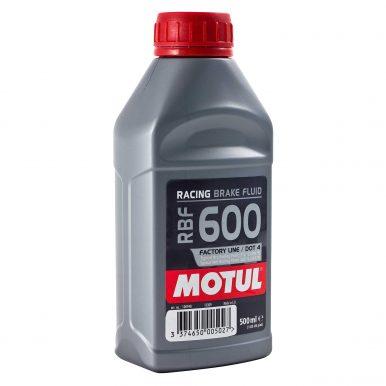 Motul RBF 600 Factory Line Racing Brake Fluid - High Performance Fully Synthetic DOT 4   RBF600